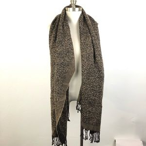 Oversized Scarf Brown